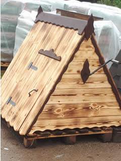 Домик для колодца (ДК-15). 8500 рублей