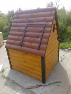 Домик для колодца (ДК-7). 12000 рублей