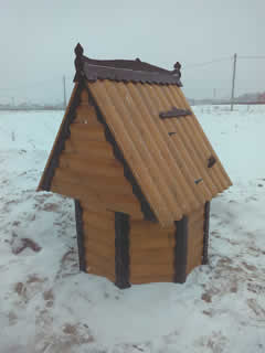 Домик для колодца (ДК-9). 18000 рублей