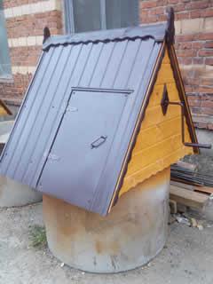 Домик для колодца (ДК-3). 9000 рублей