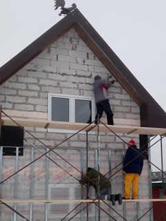 Строительство домов. Отделка здания