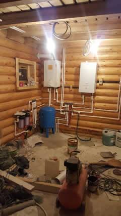 Монтаж водоснабжения внутри помещения